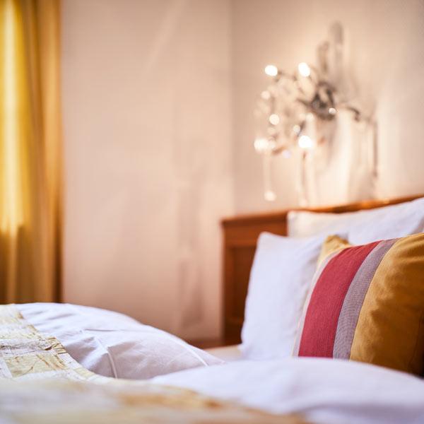 Hotelzimmer in Heidelberg